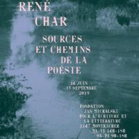 Immersion dans l'univers de René Char avec Danièle Leclair